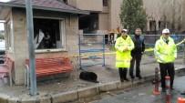 TRAFİK POLİSİ - Şehit Sekin'in Köpeği Olay Yerinden Ayrılmadı, Herkes Duygulandı
