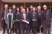 KATLIAM - Selçuk'taki Avukatlar Teröre Karşı Tek Yumruk Oldu