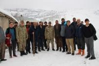 Varto Kaymakamı Çetin'den Köy Ziyaretleri