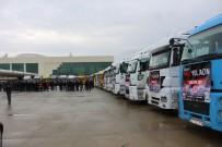 ADıYAMAN ÜNIVERSITESI - Adıyaman'dan Suriye'ye 27 Tır Dolusu Yardım Gönderildi
