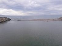 GÜMELI - Alaplı Çayı'nda Sel Tehlikesi