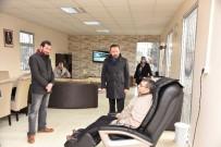 NEVZAT DOĞAN - Başkan Doğan'dan Emekli Evlerine Ziyaret