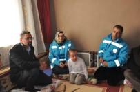 Başkan Durak, Küçük Aslı'yı Evinde Ziyaret Etti