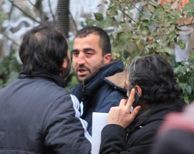 Başkent'te canlı bomba zannedilen şahıs paniğe neden oldu