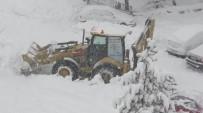 Beyşehir'de Kar Yağışı Etkili Oluyor