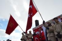 Bitlis'te Sarıkamış Şehitleri Anısına Yürüyüş Ve Bayraklı Gösteri Düzenlendi