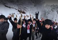 ABANT - Bolu'da Eksi 18 Derecede Sarıkamış Şehitleri Anıldı