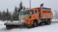 ROBOT - Bursa'da Karla Kesintisiz Mücadele Devam Ediyor