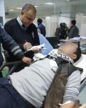 YÜKSEK GERİLİM - Elektrik Akımına Kapılan İşçi Hastanelik Oldu