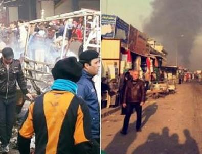 Irak'ta bombalı araçla saldırı! Çok sayıda ölü var...