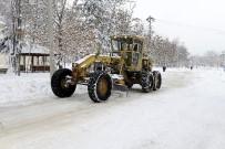 Isparta'da Kar Yağışı Etkili Oldu