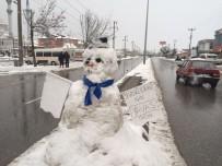 Kardan Adamdan Sürücülere Uyarı