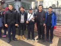MIHENK TAŞı - Öğrencilerden Polise Başsağlığı Ziyareti