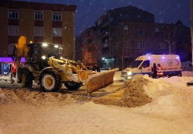 İstanbul'da 6 aylık Miraç Bebek için karda zamanla yarış