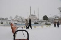SELIMIYE CAMII - Selimiye Camii'nden Kar Fotoğrafları