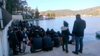 HELIKOPTER - Son Bir Haftada 239 Göçmen Yakalandı