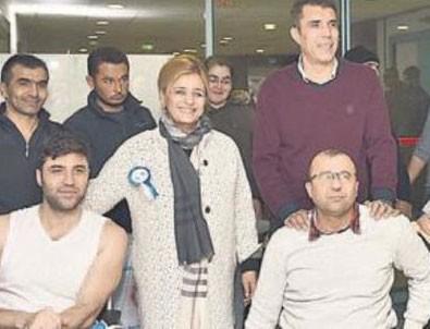 SOS'tan gazilere ziyaret