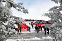 AHMET OKUR - Uşak'ta Sarıkamış Şehitlerini Anma Yürüyüşü Yapıldı
