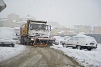 MALTEPE BELEDİYESİ - 85 Yaşındaki Besra Nine'yi Hastaneye Götürmek İçin Karla Mücadele