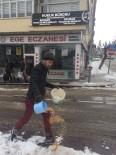 AKSARAY BELEDİYESİ - Aksaray Belediyesi Kuşlar İçin Yem Bıraktı