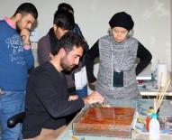 EBRU SANATı - ARÜ'de Ebru Kursu Açıldı
