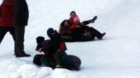 Ayder'de Şambrel İle Kayak Keyfi