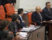 KANUN TEKLİFİ - Bahçeli'nin TBMM Genel Kurulu'nda HDP sıralarına bakışı