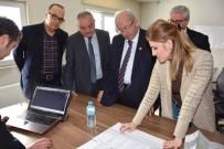 Başkan Albayrak TESKİ'nin Yüklenici Firma Şantiyelerini İnceledi