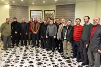 İMAM HATİP OKULU - Başkan Aygün Gazeteciler Gününde Gazetecilerle Buluştu