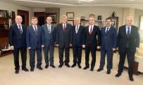 İBRAHIM KARAOSMANOĞLU - Başkan Karaosmanoğlu, Siyasi Parti İl Başkanlarını Ağırladı