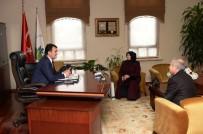 AHMET HAMDİ TANPINAR - Batı Trakyalı Yazardan Dündar'a Ziyaret