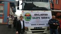 Bingöl'den Halep'e Yardım Tırı Gönderildi