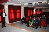 Burdur'daki Gazetecilere Meslek İçi Eğitim