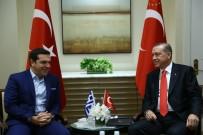YUNANİSTAN BAŞBAKANI - Cumhurbaşkanı Erdoğan Çipras İle Görüştü