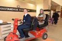 GÖLGELI - Erdemli Devlet Hastanesi'nde Hastalara Akülü Araçlarla Hizmet