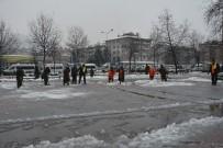 İSLAMDAĞ - Fatsa Belediyesi Karla Mücadele Çalışmaları