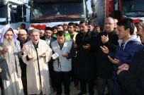HAYIRSEVERLER - Harran'dan Halep'e İnsani Yardım Taşıyan 3 Tır Daha Yola Çıktı