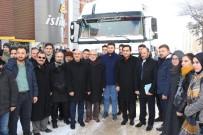 İHH Ve Kırşehir Belediyesi'nden Halep'e 4 TIR'lık Gıda Yardımı