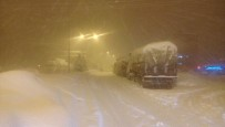 GÜZERGAH - Kahramanmaraş'ta Kar Esareti