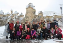 YABANCI TURİST - Kapadokya'da Ziyaretçi Sayısı 1 Milyon Düştü