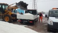 Karla Mücadelede 200 Ton Tuz Döküldü
