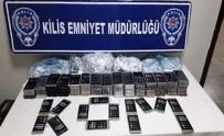 KAÇAK CEP TELEFONU - Kilis'te 176 Adet Kaçak Cep Telefonu Ele Geçirildi