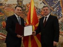 ARNAVUT - Makedonya'da Gruevski Hükumeti Kurma Görevini Devraldı