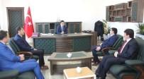 EĞİTİM SİSTEMİ - Müdür Kırekin'den Kaymakam Doğramacı'ya Ziyaret