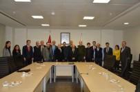 SAÜ Öğretim Üyeleri İle Savuma Sanayi Müsteşarlığı Arasında Toplantı Yapıldı