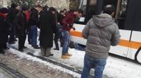 ENGELLİ VATANDAŞ - Tramvayın Altında Kalan Şahıs Yaralandı
