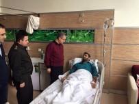 Vali Tapsız'dan Yaralı Askere Ziyaret