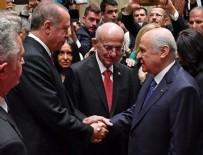 MHP - Cumhurbaşkanı Erdoğan ile Bahçeli arasında rozet diyaloğu