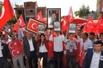 TERÖRE LANET - Diyarbakır'da 'Teröre Lanet' yürüyüşü düzenlendi
