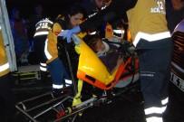 ONSEKIZ MART ÜNIVERSITESI - Düğün Yolunda Kaza Açıklaması 9 Yaralı